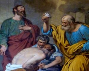 Paul in the Mamertine Prison, Franscesco Coghetti Philippians 1:12 - 14